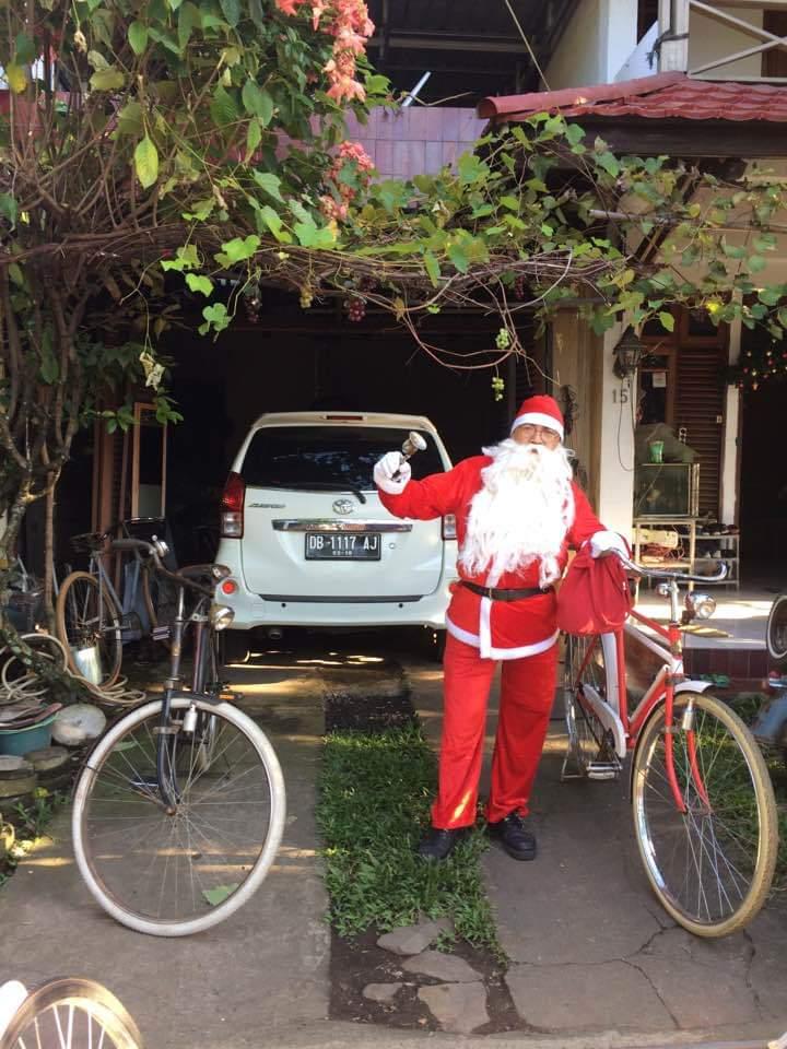 Setuamo Siapkan Santa Claus Ramaikan North Sulawesi Christmas Fun Bike 2018